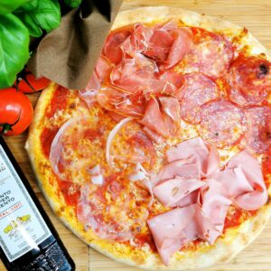 Pizza ai Salami Misti