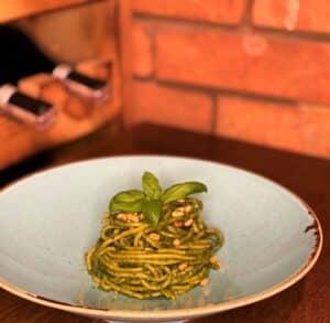 Spaghetti al pesto alla Genovese