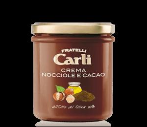Crema di nocciole e cacao 300g